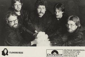 Flaming Bess Autogrammkarte Polydor 1