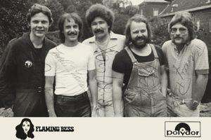 Flaming Bess Autogrammkarte Polydor 2