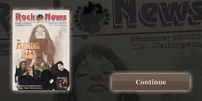 Titlestory – Flaming Bess im Rock News Magazine